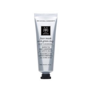 Apivita Face Mask with Green Clay Deep Cleansing 50ml