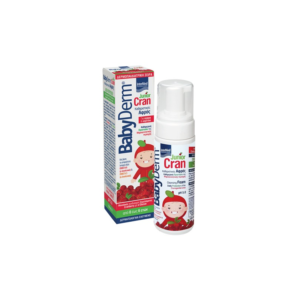 Intermed Babyderm Junior Cran Cleansing Foam 150ml