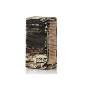 Korres Black Sugar Oriental Lilly Violet Γυναικείο Άρωμα 50ml