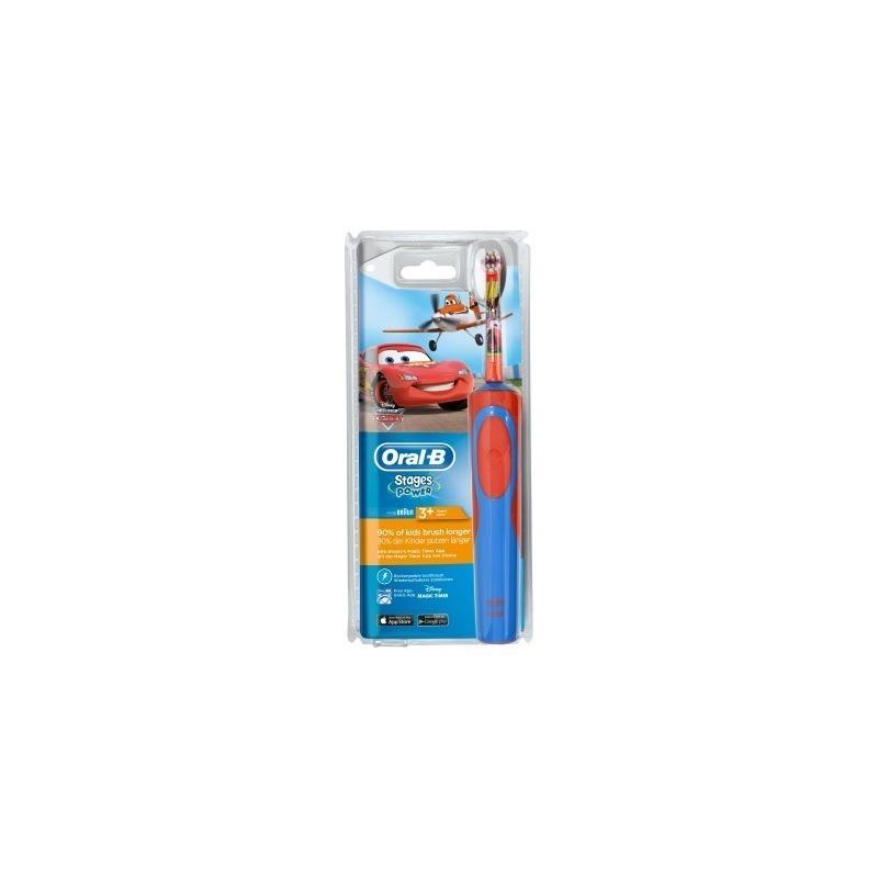 Oral-B Stages Power Ηλεκτρική οδοντόβουρτσα Cars για παιδιά 3+
