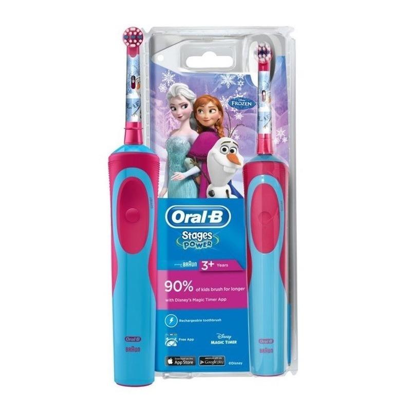 Oral-B Stages Power Παιδική Ηλεκτρική Οδοντόβουρτσα Frozen 3+
