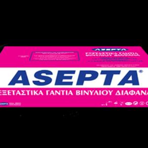 ASEPTA Vinyl Examination Gloves