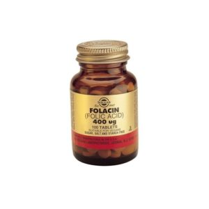 Solgar Folacin (Folic Acid) 400μg  100tablets