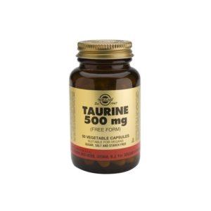 Solgar Taurine 500mg   50veg.caps