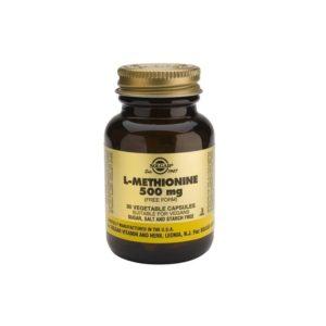 Solgar L-Methionine 500mg  30veg.caps