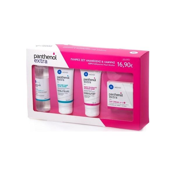Medisei Panthenol Extra Πλήρες Σετ Ανανέωσης   Λάμψης (Day Cream SPF15  50ml 76ab7879e59