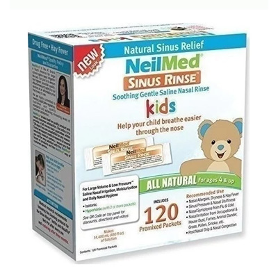 Sinus Rinse Kids 120 Premixed Packets